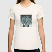 Smells Like Fish Womens Fitted Tee Natural SMALL