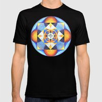 Solar Kaleidoscope (ANAL… Mens Fitted Tee Black SMALL