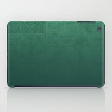 Jade Map iPad Case