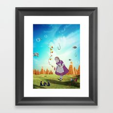 Alice Wondering Framed Art Print