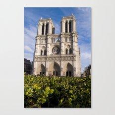 Notre Dame Paris Canvas Print