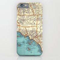 So Cal Surf Map iPhone 6 Slim Case