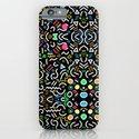 retro confetti iPhone & iPod Case