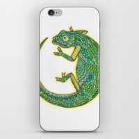 Quirky Chameleon iPhone & iPod Skin