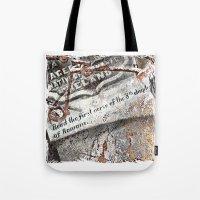 1800's Gravestone Art  S… Tote Bag