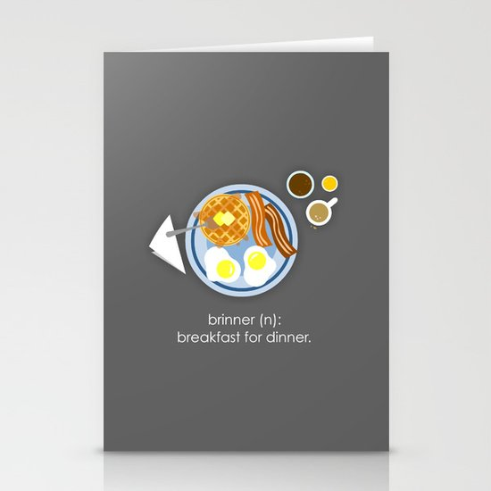 Brinner Stationery Card