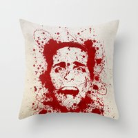 American Psycho Throw Pillow