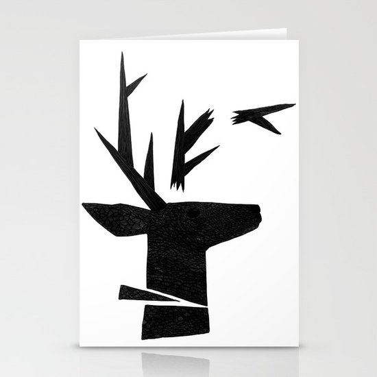 Untitled #1 Stationery Card