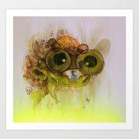 Weedy Playstation Franke… Art Print