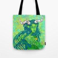 Taurus: The Quiet Achiever (Apr 21 - May 21) - ORIGINAL GOUACHE Tote Bag