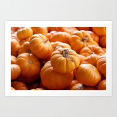 'Lil Pumpkins Art Print