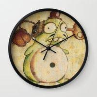 Grammovaglia Wall Clock