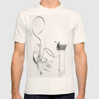 Your Entertainment  Mens Fitted Tee Natural SMALL