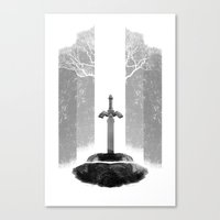 The Legend of Zelda: The Master Sword Canvas Print