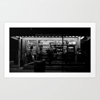 Night Bright Art Print