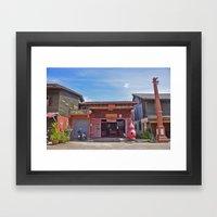 Old Town Koh Lanta Framed Art Print