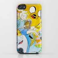 iPod Touch Cases featuring AT : Enchiridion  by Net's Works
