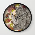 Olive and Hank Wall Clock