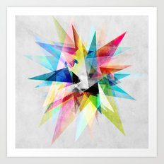 Colorful 2 X Art Print