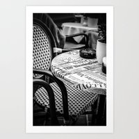 Chair in Vienna Art Print