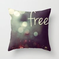 free II Throw Pillow