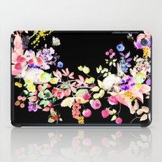 Soft Bunnies black iPad Case