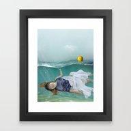 Framed Art Print featuring Mermaid  by Mary Kilbreath