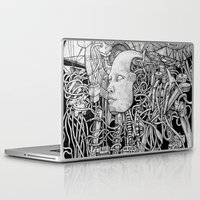 robot Laptop & iPad Skins featuring Robot by Walid Aziz