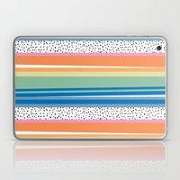 Dalmatian Rainbow Stripe Laptop & iPad Skin