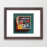 Computer Framed Art Print