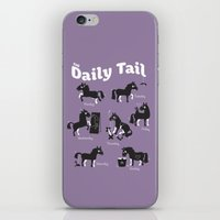 The Daily Tail Horse iPhone & iPod Skin