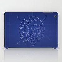 Heroes Are Built iPad Case