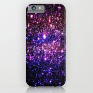 Pink Purple Blue Stars iPhone 6 Slim Case