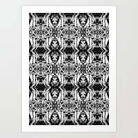 Tentacles Pattern Art Print