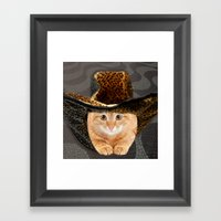 The Cat In The Hat Framed Art Print