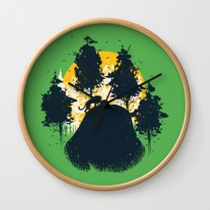 Wildlife Habitat Wall Clock