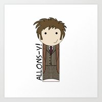 Doctor Who Tenth Doctor Art Print