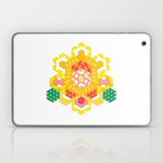 Yellow Lotus Rose Laptop & iPad Skin