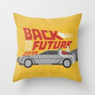 The Future Is Coming Throw Pillow