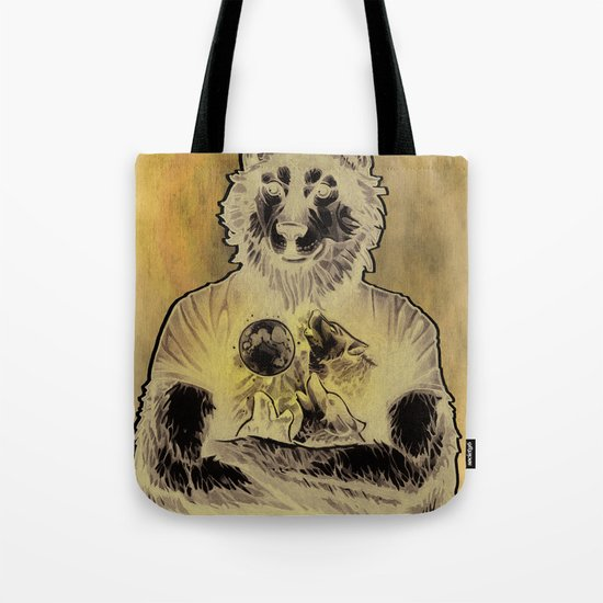 Four Wolf Moon Tote Bag