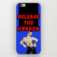 Release The Kraken iPhone & iPod Skin