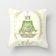 A Prince For Me.  Prince… Throw Pillow