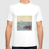 Paper Cranes Mens Fitted Tee White SMALL