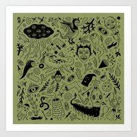 Curious Collection No. 2… Art Print