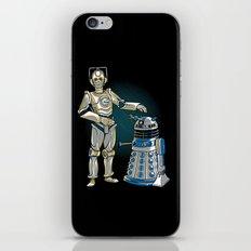 Cyber3PO and R2Dalek iPhone & iPod Skin