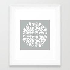 blan Framed Art Print