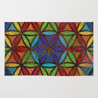 The Flower of Life (Sacred Geometry) 3 Rug