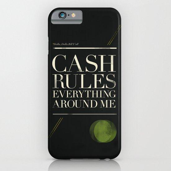 C.R.E.A.M. iPhone & iPod Case