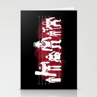 Plastic Villains  Stationery Cards
