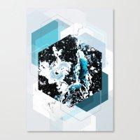 Geometric Textures 4 Canvas Print